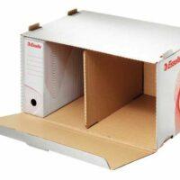 e394a9d11 Archívna krabica s vekom biela/červená Esselte - Packaging.sk ...